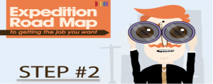 Expedition Roadmap To Getting The Job You Want – Step 2 – Defining Your Destination