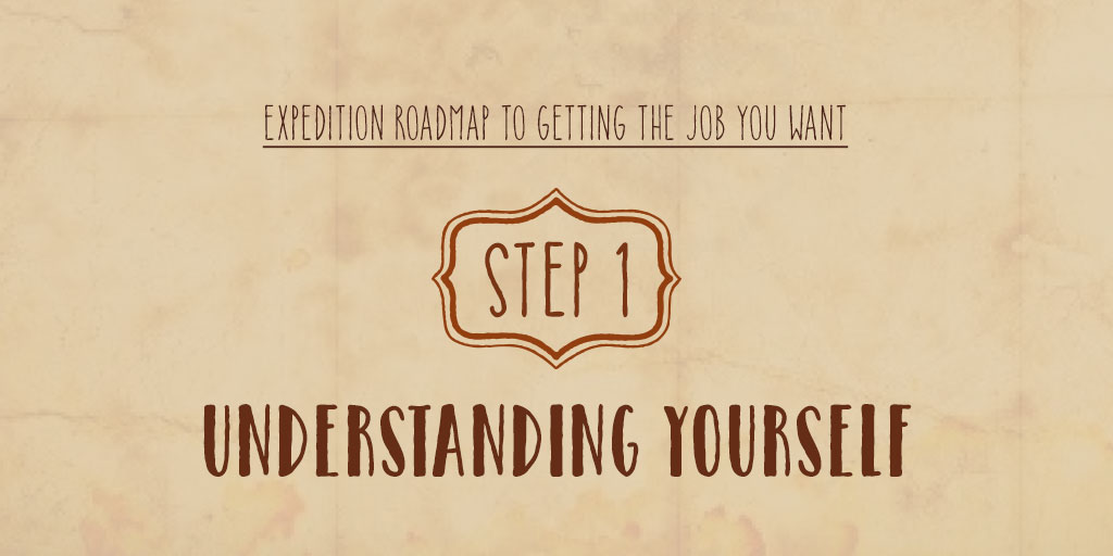 Expedition Roadmap To Getting The Job You Want – Step 1 – Understanding Yourself