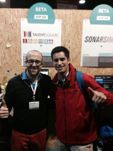 Hugo and Timoté at the Web Summit